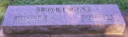 ROBERTS, ELLWYN C. - Stark County, Ohio | ELLWYN C. ROBERTS - Ohio Gravestone Photos