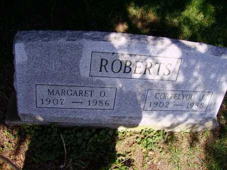 ROBERTS, CORTELYOU J. - Stark County, Ohio   CORTELYOU J. ROBERTS - Ohio Gravestone Photos