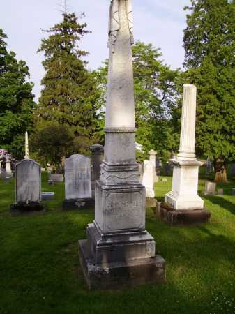 ROBINSON, JOHN - MONUMENT - Stark County, Ohio | JOHN - MONUMENT ROBINSON - Ohio Gravestone Photos