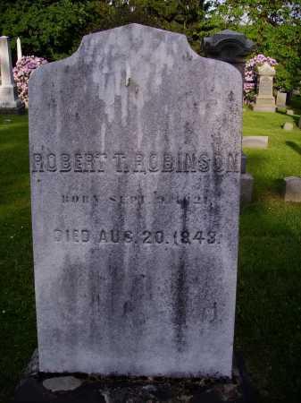 ROBINSON, ROBERT T. - Stark County, Ohio | ROBERT T. ROBINSON - Ohio Gravestone Photos