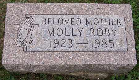 ROBY, MOLLY - Stark County, Ohio | MOLLY ROBY - Ohio Gravestone Photos
