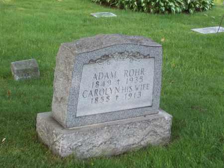 ROHR, CAROLYN - Stark County, Ohio   CAROLYN ROHR - Ohio Gravestone Photos