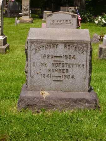 ROHRER, ELISE - Stark County, Ohio | ELISE ROHRER - Ohio Gravestone Photos