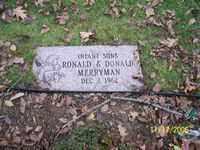 RONALD, MERRYMAN - Stark County, Ohio | MERRYMAN RONALD - Ohio Gravestone Photos