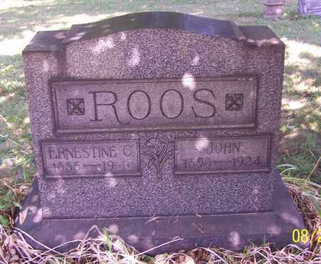 HAAG ROOS, ERNESTINE C. - Stark County, Ohio | ERNESTINE C. HAAG ROOS - Ohio Gravestone Photos