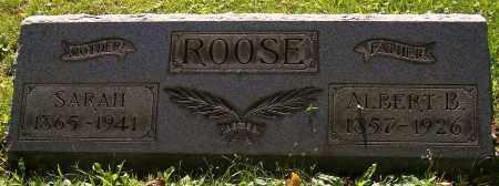ROOSE, SARAH - Stark County, Ohio   SARAH ROOSE - Ohio Gravestone Photos