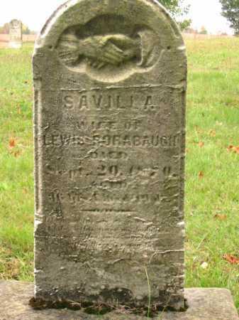 RORABAUGH, SAVILLA - Stark County, Ohio   SAVILLA RORABAUGH - Ohio Gravestone Photos