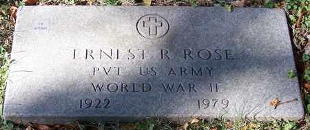 ROSE, ERNEST R. - Stark County, Ohio | ERNEST R. ROSE - Ohio Gravestone Photos
