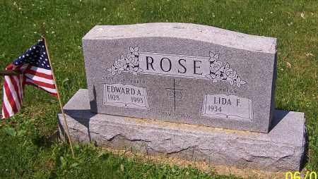 ROSE, EDWARD A. - Stark County, Ohio | EDWARD A. ROSE - Ohio Gravestone Photos