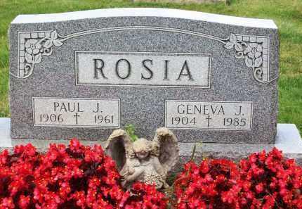 ROSIA, GENEVA J. - Stark County, Ohio | GENEVA J. ROSIA - Ohio Gravestone Photos