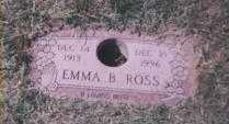 ROSS, EMMA B. - Stark County, Ohio | EMMA B. ROSS - Ohio Gravestone Photos