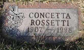ROSSETTI, CONCETTA - Stark County, Ohio | CONCETTA ROSSETTI - Ohio Gravestone Photos