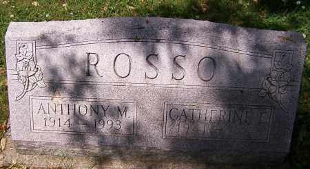 ROSSO, ANTHONY M. - Stark County, Ohio | ANTHONY M. ROSSO - Ohio Gravestone Photos