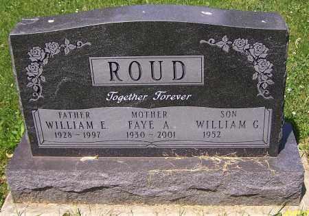 ROUD, WILLIAM E. - Stark County, Ohio | WILLIAM E. ROUD - Ohio Gravestone Photos