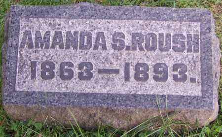 ROUSH, AMANDA S. - Stark County, Ohio | AMANDA S. ROUSH - Ohio Gravestone Photos