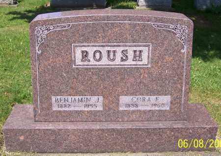 ROUSH, BENJAMIN J. - Stark County, Ohio | BENJAMIN J. ROUSH - Ohio Gravestone Photos