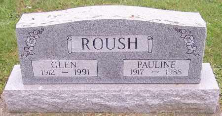 ROUSH, GLEN - Stark County, Ohio | GLEN ROUSH - Ohio Gravestone Photos