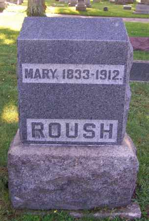 ROUSH, MARY - Stark County, Ohio | MARY ROUSH - Ohio Gravestone Photos