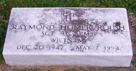 ROUSH, RAYMOND HOMER - Stark County, Ohio   RAYMOND HOMER ROUSH - Ohio Gravestone Photos
