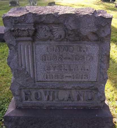 ROWLAND, STELLA A. - Stark County, Ohio | STELLA A. ROWLAND - Ohio Gravestone Photos