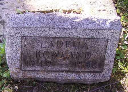 ROWLAND, LADEMA - Stark County, Ohio   LADEMA ROWLAND - Ohio Gravestone Photos
