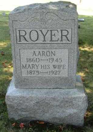 ROYER, AARON - Stark County, Ohio | AARON ROYER - Ohio Gravestone Photos