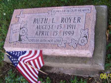 ROYER, RUTH L. - Stark County, Ohio   RUTH L. ROYER - Ohio Gravestone Photos