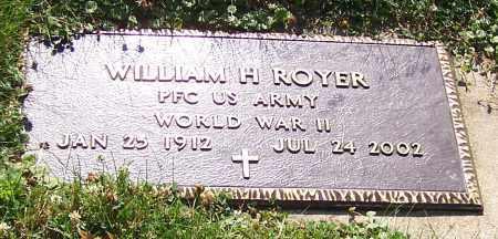 ROYER, WILLIAM H.  (MIL) - Stark County, Ohio | WILLIAM H.  (MIL) ROYER - Ohio Gravestone Photos