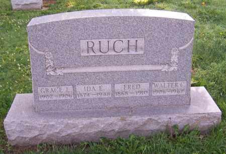 RUCH, FRED - Stark County, Ohio | FRED RUCH - Ohio Gravestone Photos