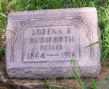 RUDIFORTH, LORENA R. - Stark County, Ohio | LORENA R. RUDIFORTH - Ohio Gravestone Photos