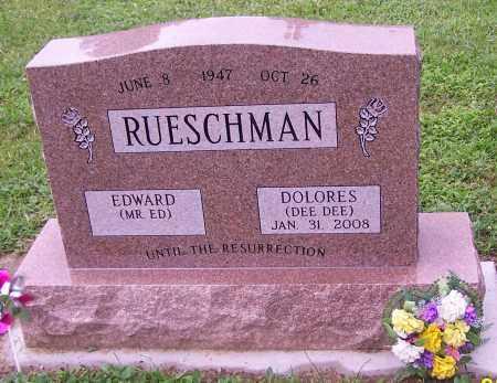 RUESCHMAN, EDWARD (MR. ED) - Stark County, Ohio | EDWARD (MR. ED) RUESCHMAN - Ohio Gravestone Photos