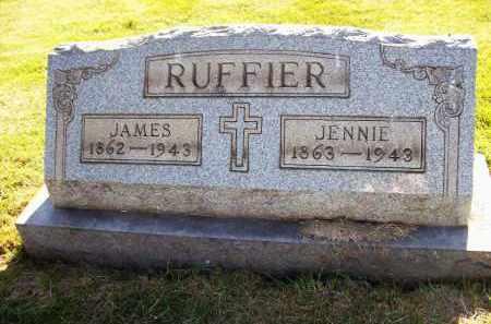 BAILLY RUFFIER, JENNIE - Stark County, Ohio | JENNIE BAILLY RUFFIER - Ohio Gravestone Photos