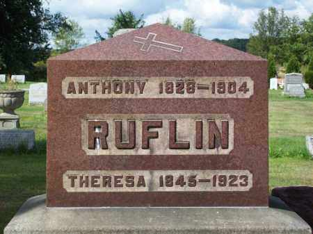 RUFLIN, THERESA - Stark County, Ohio   THERESA RUFLIN - Ohio Gravestone Photos