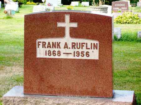 RUFLIN, FRANK A. - Stark County, Ohio | FRANK A. RUFLIN - Ohio Gravestone Photos