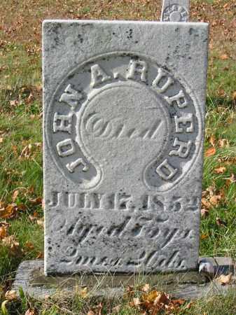 RUPERD, JOHN A - Stark County, Ohio   JOHN A RUPERD - Ohio Gravestone Photos