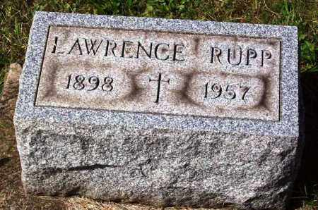 RUPP, LAWRENCE - Stark County, Ohio | LAWRENCE RUPP - Ohio Gravestone Photos