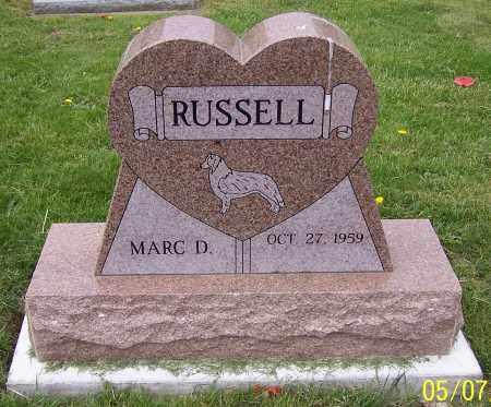 RUSSELL, MARC D. - Stark County, Ohio | MARC D. RUSSELL - Ohio Gravestone Photos