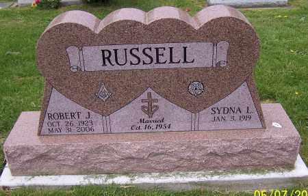 RUSSELL, ROBERT J. - Stark County, Ohio | ROBERT J. RUSSELL - Ohio Gravestone Photos