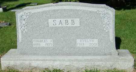 SABB, CHARLES J. - Stark County, Ohio | CHARLES J. SABB - Ohio Gravestone Photos