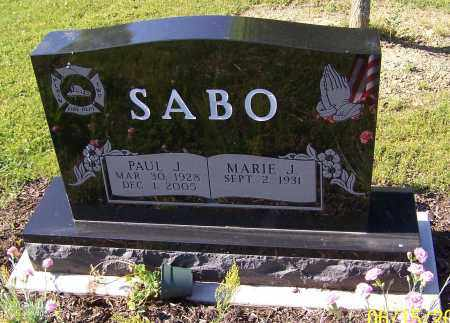 SABO, PAUL J. - Stark County, Ohio | PAUL J. SABO - Ohio Gravestone Photos