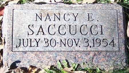 SACCUCCI, NANCY E. - Stark County, Ohio | NANCY E. SACCUCCI - Ohio Gravestone Photos