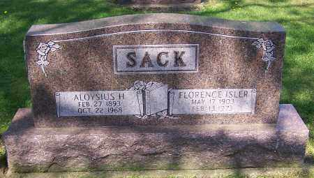 SACK, ALOYSISUS H. - Stark County, Ohio | ALOYSISUS H. SACK - Ohio Gravestone Photos