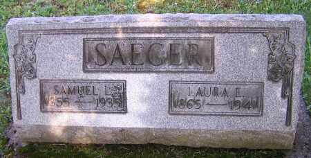 SAEGER, LAURA E. - Stark County, Ohio   LAURA E. SAEGER - Ohio Gravestone Photos