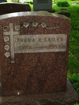 SAILER, FREDA R. - Stark County, Ohio   FREDA R. SAILER - Ohio Gravestone Photos