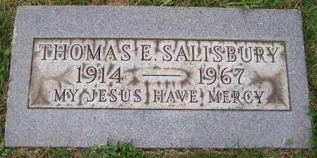 SALISBURY, THOMAS E. - Stark County, Ohio | THOMAS E. SALISBURY - Ohio Gravestone Photos