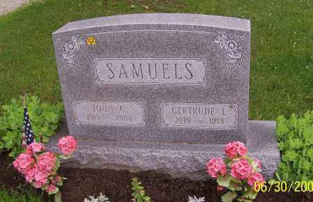 SAMUELS, JOHN C. - Stark County, Ohio   JOHN C. SAMUELS - Ohio Gravestone Photos