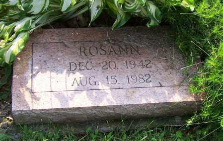 SANFORD, ROSANN - Stark County, Ohio | ROSANN SANFORD - Ohio Gravestone Photos