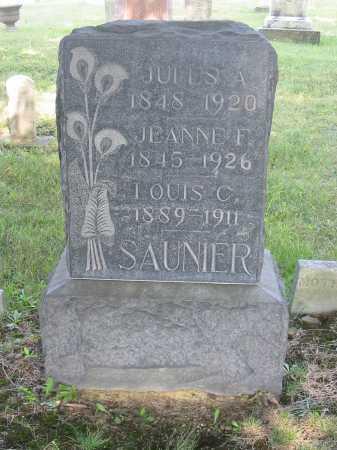 DUPREZ SAUNIER, JEANNE F - Stark County, Ohio | JEANNE F DUPREZ SAUNIER - Ohio Gravestone Photos