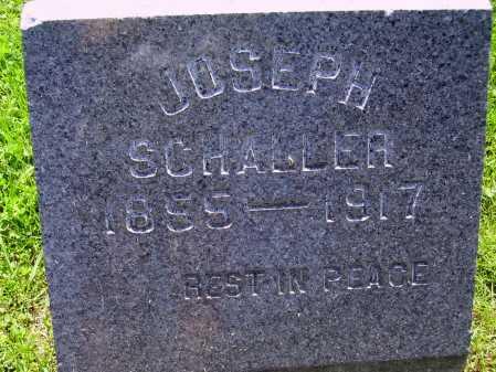 SCHALLER, JOSEPH P. - Stark County, Ohio   JOSEPH P. SCHALLER - Ohio Gravestone Photos