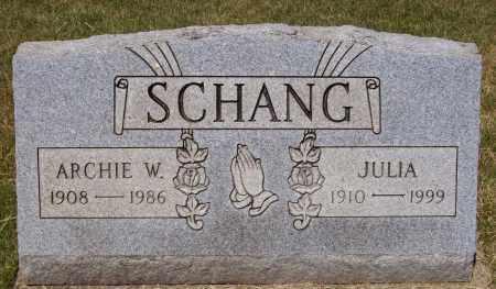 SCHANG, JULIA - Stark County, Ohio | JULIA SCHANG - Ohio Gravestone Photos